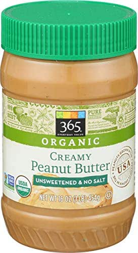 Peanut & Nut Butters: 365 Everyday Value Organic Peanut Butter