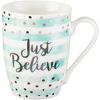 4d35861e97d Just Believe, Mark 5:36 Coffee Mug, Sparkle Collection
