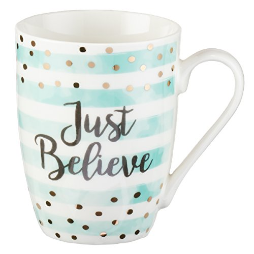 Just Believe, Mark 5:36 Coffee Mug, Sparkle Collection ()