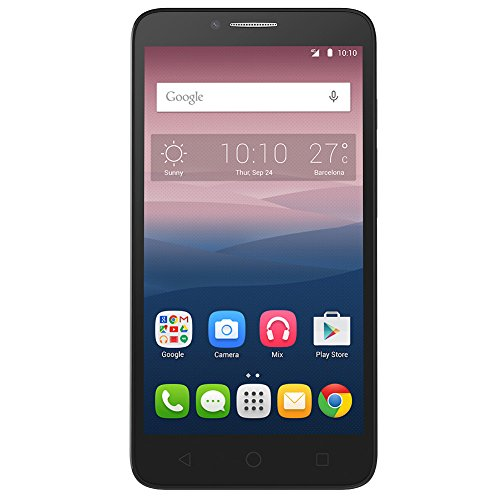 ALCATEL OneTouch Pop 3 Global Unlocked 4G LTE Smartphone, 5.5 HD Display, 8GB (GSM - US Warranty) by Alcatel