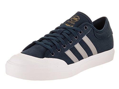 Adidas Originals Men's Matchcourt Sneaker, Collegiate Navy/Medium Solid Grey/Gum, 9 Medium US