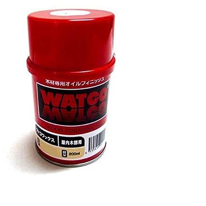 浸透性塗料 ワトコ ワックス W-15 白 (ナチュラル) 200ml
