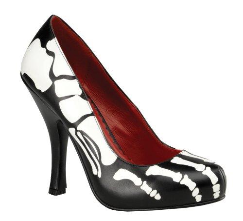 Blk Pour Halloween Pu 12 X ray Squelette Funtasma Femme Zx7wU0Z