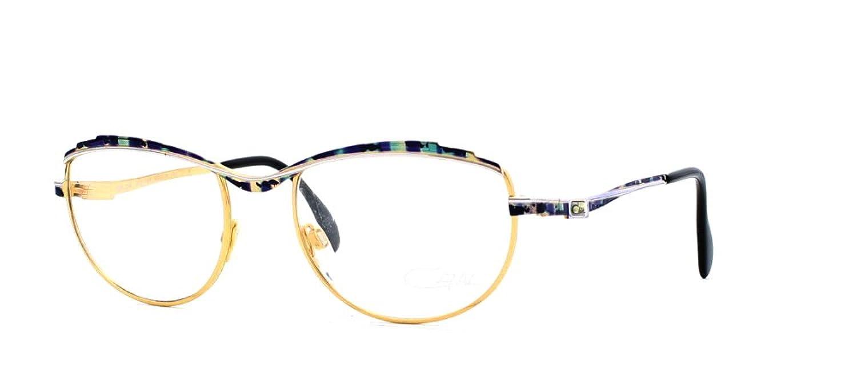 a5b3e11c7788 Amazon.com  Cazal 258 428 Gold and Purple Authentic Women Vintage  Eyeglasses Frame  Clothing