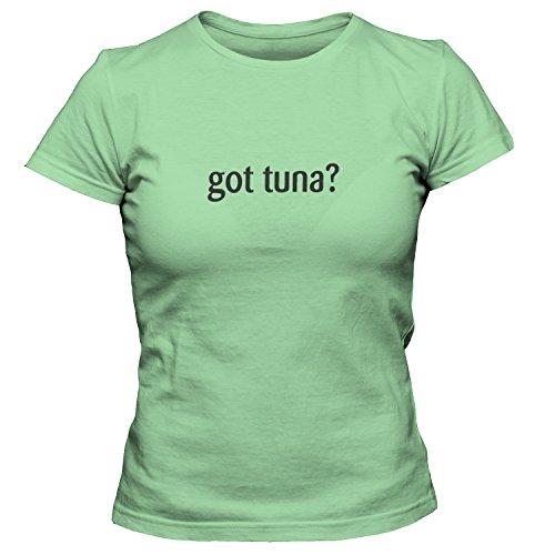 ShirtLoco Women's Got Tuna T-Shirt, Kiwi Large