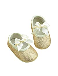 Susenstone Glitter Baby Shoes Sneaker Anti-slip Soft Sole Toddler