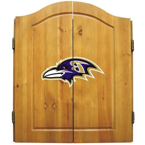 HealthyBells Baltimore Ravens Dart Cabinet