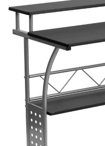 Flash Furniture Clifton Black Computer Desk Nan Clifton