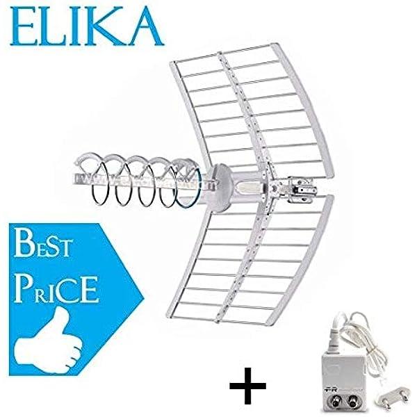 Fracarro Elika Pro - Antena helicoidal activa con puntero ...