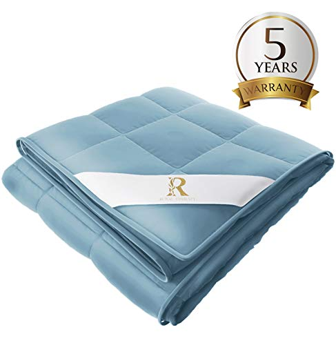 Cheap Royal Therapy Weighted Blanket (60 x80 20lbs Soft Sky) Black Friday & Cyber Monday 2019