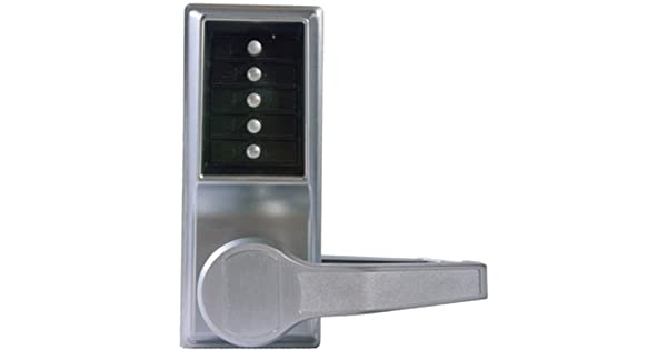 Amazon.com: Kaba lr1031 – 26d-41 cilíndrico Push Button Lock ...