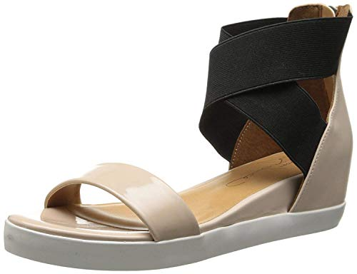 Report Signature Women's Cathrine Wedge Sandal, Nude, 7.5 M US