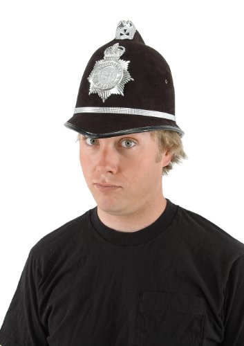 [Elope British Bobby Hat] (British Police Hat Costume)