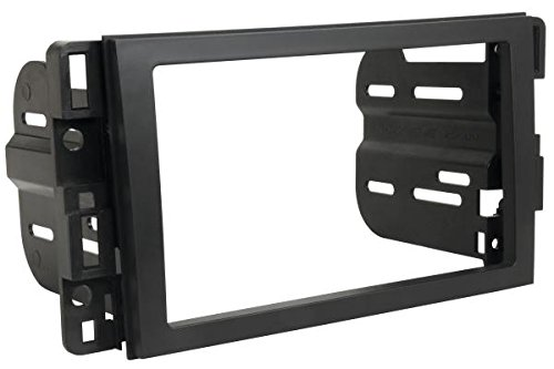 Scosche GM1598AB Single/Double DIN Installation Dash Kit for 2006-Up Chevrolet Impala/Tahoe ()