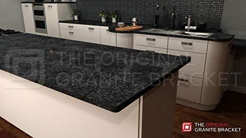 Hidden Island Support Bracket (32 inch) by The Original Granite Bracket (Image #5)