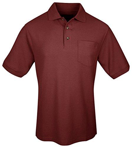 Tri Mountain Signature Ltd  Golf Shirt  M  Maroon