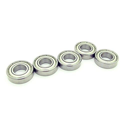 (5PCS 6900ZZ 10x22x6mm Metal Shielded Skateboard Ball Bearing Bearings 6900z)