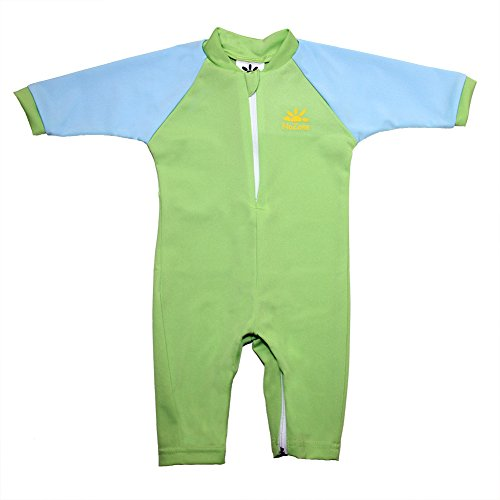 Fiji Sun Protective UPF 50+ Baby Swimsuit by Nozone in Blade/Spa, 6-12 months (Suits For Baby)