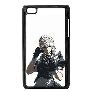 iPod 4 Case Black sakuya izayoi touhou project Popular Anime image WUP6759639