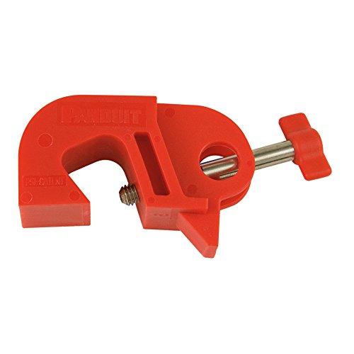 Panduit PSL-CBILNT No-Tool I-Line Circuit Breaker Lockout Device Red