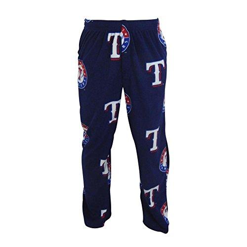 Concepts Sport Men's Texas Rangers Fleece Pajama Pants (XX-Large)