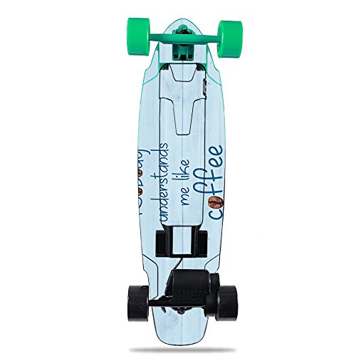 MightySkins Skin for Yuneec E-GO2 Electric Skateboard – Coffee Understands Me | Protective, Durable, and Unique Vinyl Decal wrap Cover | Easy to Apply, Remove, and Change Styles | Made in The USA Review