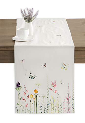 Maison d' Hermine Botanical Fresh 100% Cotton Table Runner 14.5 Inch by 72 Inch]()