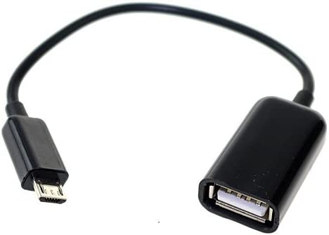 USB Host OTG Adapter Cable Cord For RCA RCT6378W2 RCT6272W23 RCT6103W46 Tablet