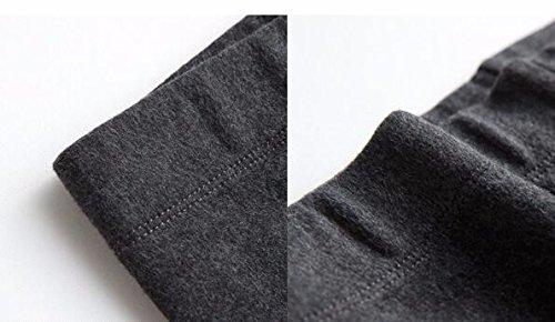 GBHNJ Leggings Women'S Pantalon Coton Léger Slim L'Automne Et L'Hiver Peut Se Porter À L'Extérieur Jaune Thermique F(Poids Approprié 80-130 Catty)