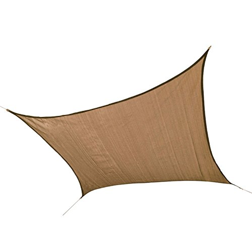 ShelterLogic Sand Shade Cover Sail, Square by ShelterLogic