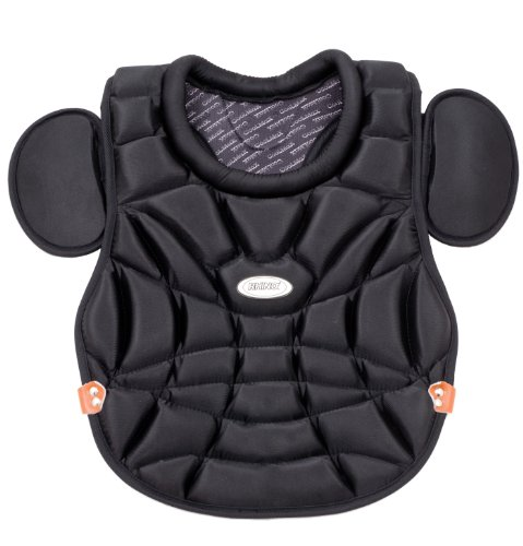 Champion Sports Rhino Series Women's Chest Protector (Black, 15-Inch) - 15 Inch Catchers Chest Protector