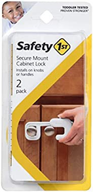 Safety 1st Trava de armário de montagem segura, 2 unidades