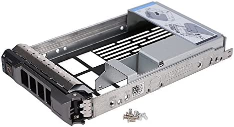 "Dell  3.5/"" Hard Drive Tray Caddy w//2.5/"" Adapter F238F with Screws"