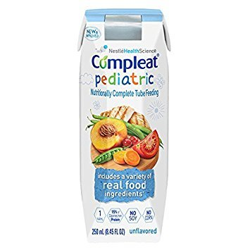 (Compleat Pediatric Unflavored 1 cal 8.45fl (1 case of 24))
