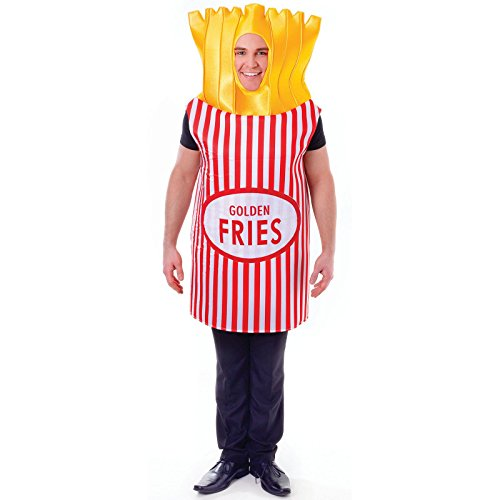 Bristol Novelty AC555 French Fries Costume, One