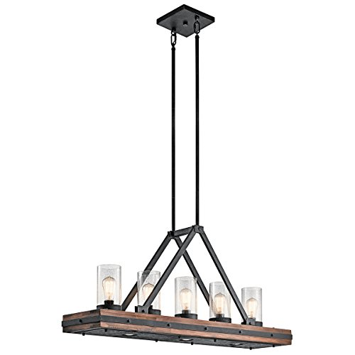 Kichler 43491AUB 5-Light Single Linear Chandelier