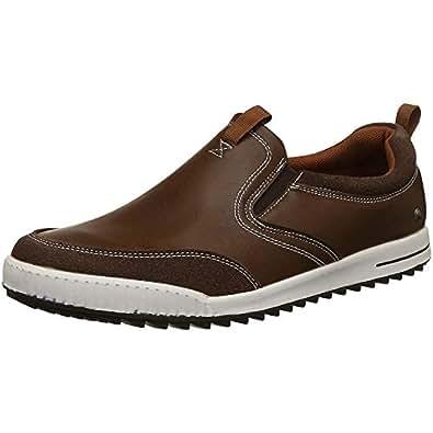 Numero Uno TMSECI235 Slip On Sneakers For Men (Tan)