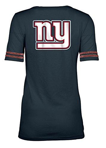 e0e5d1200 Amazon.com   A-Team Apparel NFL Women s Tri Blend Jersey Short Sleeve Scoop  Neck Tee   Sports   Outdoors