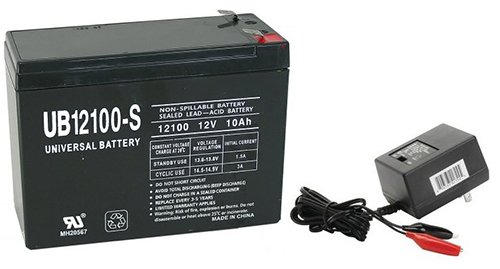 12V 10AH Battery for Enduring 6 DZM 10 WITH CHARGER