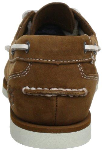Timberland Marron Brown Barefoot Unlined Buffed Bateau medium Femme Classic Chaussures AXBwqrX
