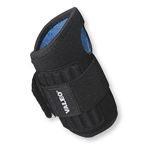 Valeo Neoprene Single Wrap Wrist Support-BLACK-SM