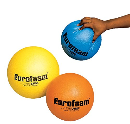 [Sportime Eurofoam Ball - 7 Inches - Orange] (Soft Touch Track Mat)