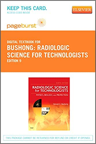 Radiologic Science For Technologists