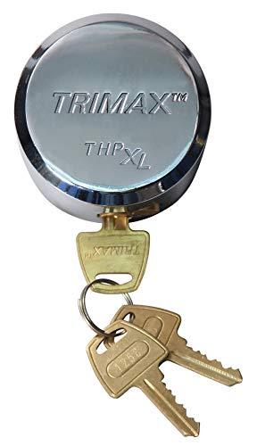 - Trimax THPXL Hockey Puck Internal Shackle Trailer Door Lock - Rekeyable