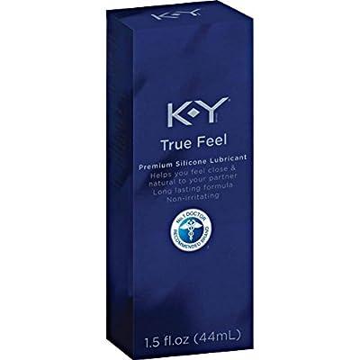 K-Y True Feel Silicone Lubricant