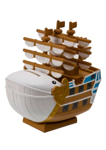 One Piece Moby Dick Pirate Ship Chara Bank