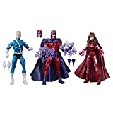 Marvel Legends Series 6' Family Matters 3 Pack with Magneto, Quicksilver, & Scarlet Witch Action Figures (Amazon Exclusive)