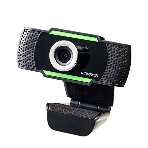 Webcam Gamer Warrior Maeve 1080P Preto - AC340