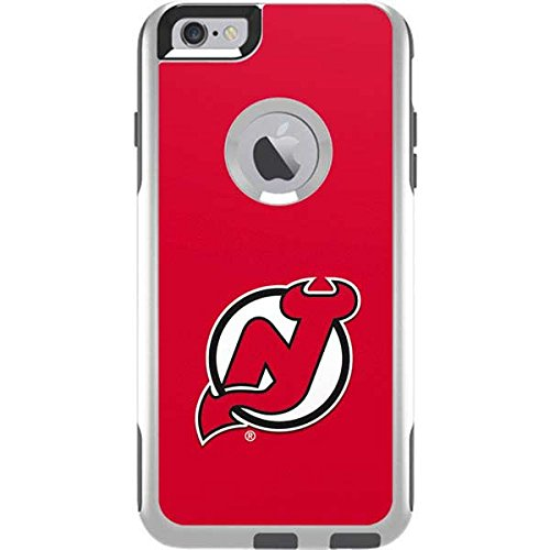 Skinit NHL New Jersey Devils OtterBox Commuter iPhone 6 Plus Skin - New  Jersey Devils Solid 4f0b25652