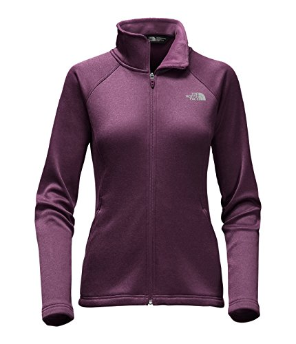 The North Face Women's Agave Full Zip Jacket Blackberry Wine Heather M